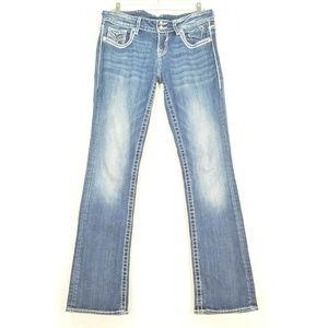Vigoss Jeans - Vigoss jeans 7 x 33 New York Slim Boot flap back p